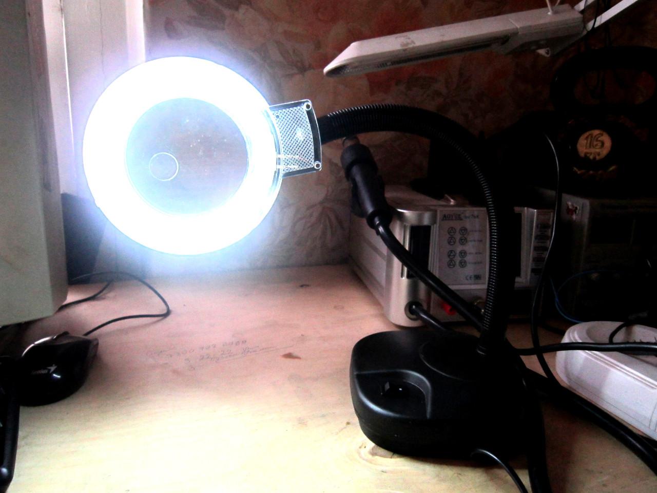лампа лупа свет