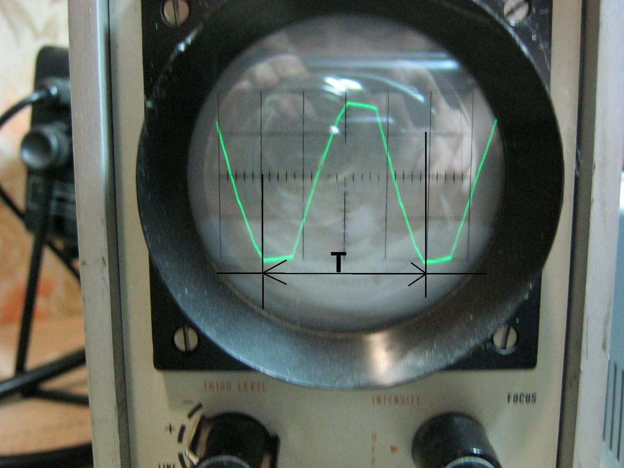 Аналоговый осциллограф