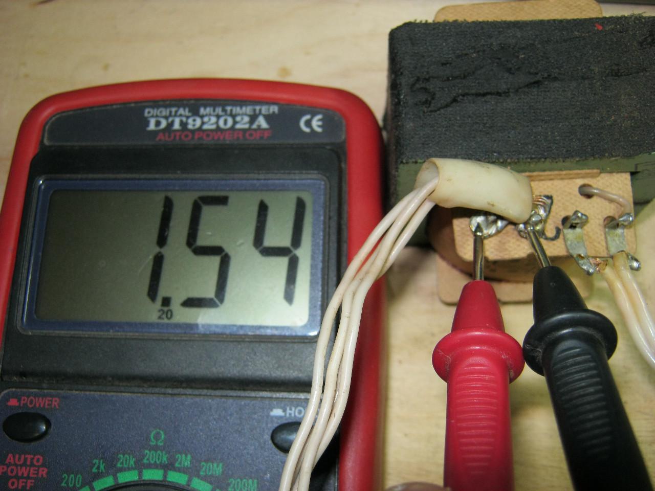 измерить напряжение на вторичной обмотке трансформатор