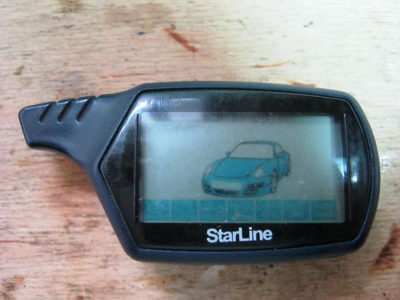ремонт брелка Starline
