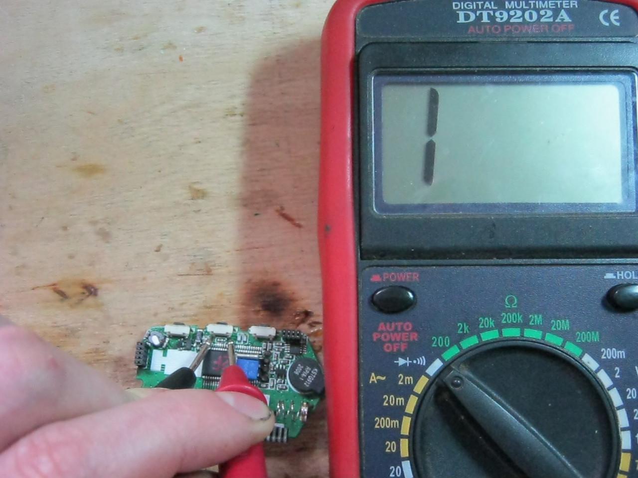ремонт брелка проверка кнопок