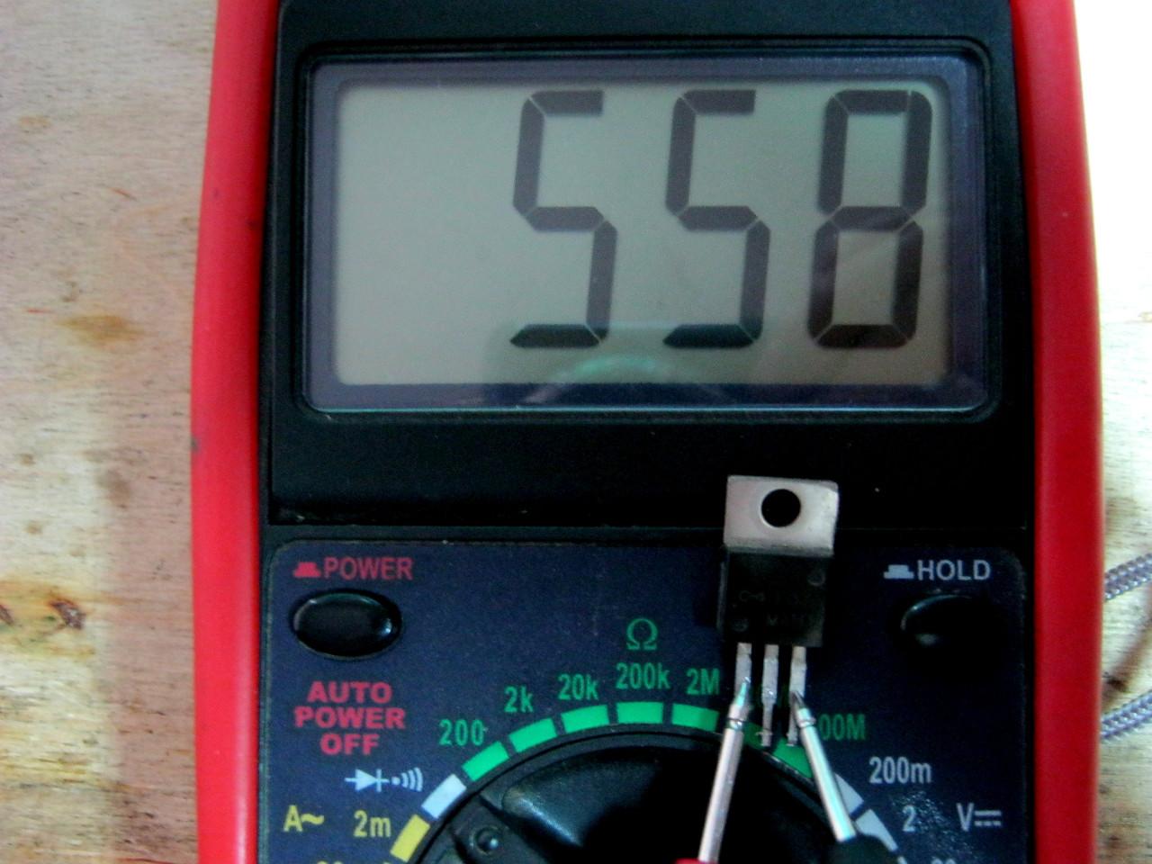 Как прозвонить транзисторы мультиметром
