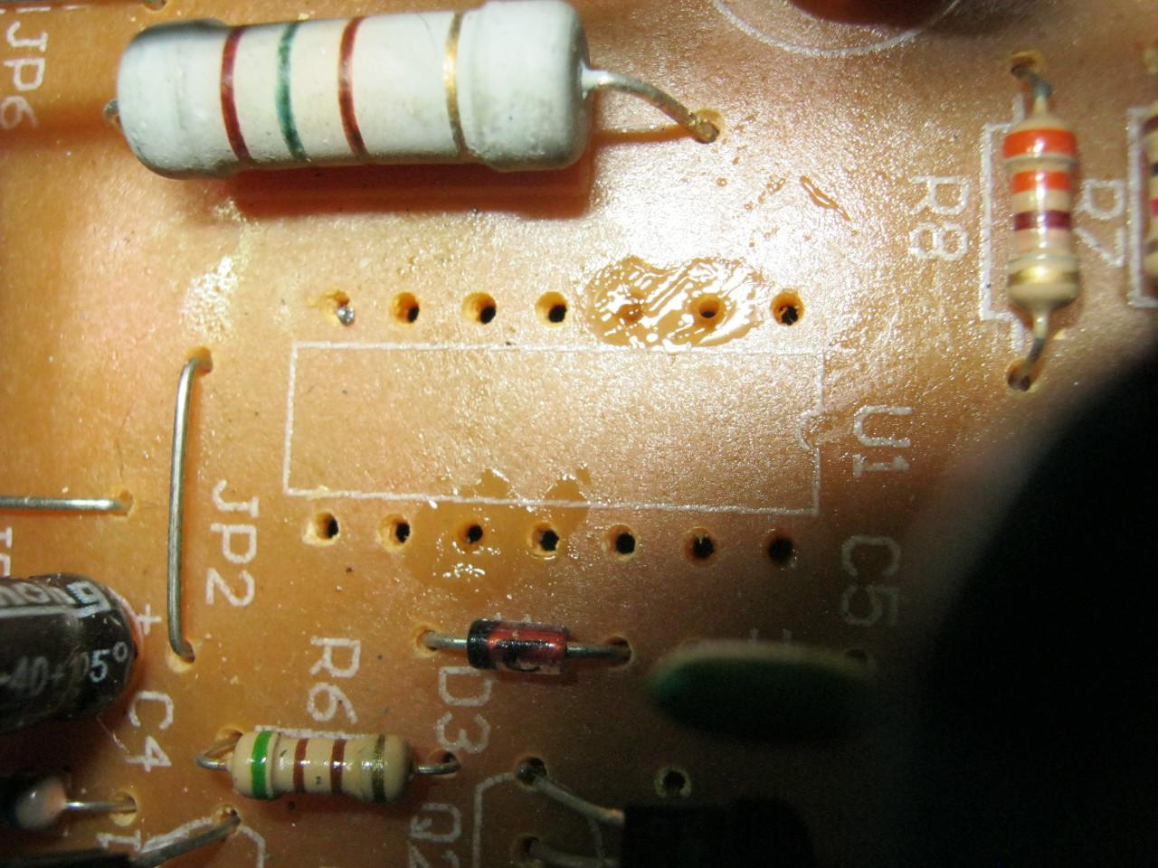 ключ под микросхему на плате