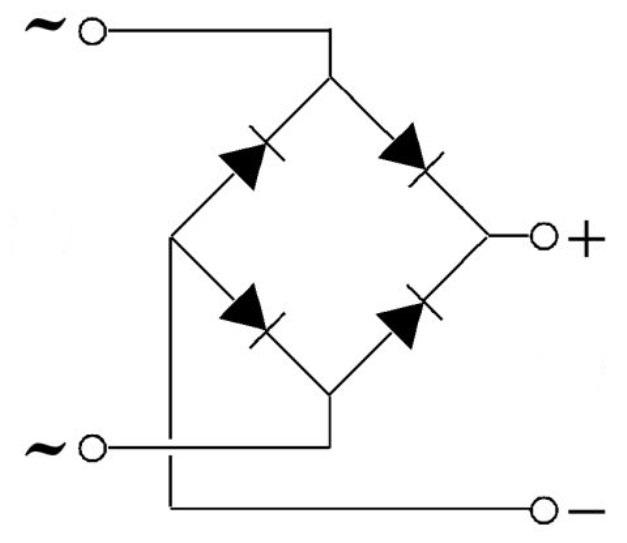 диодный мост обозначение на схеме