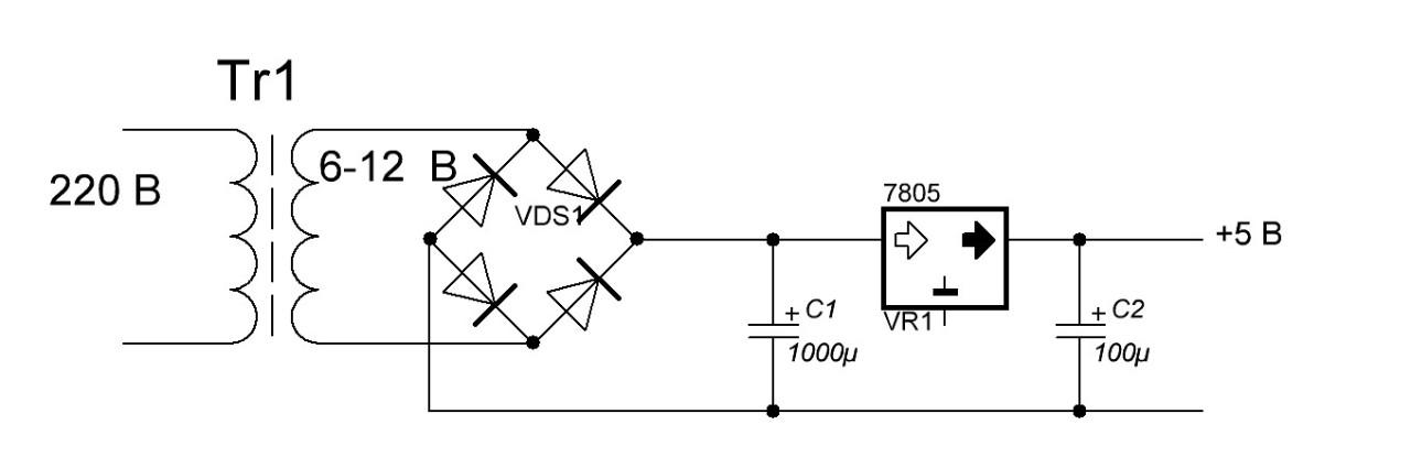 Стабилизатор напряжения интегральный lm7805 сварочный аппарат ресанта инверторный цена