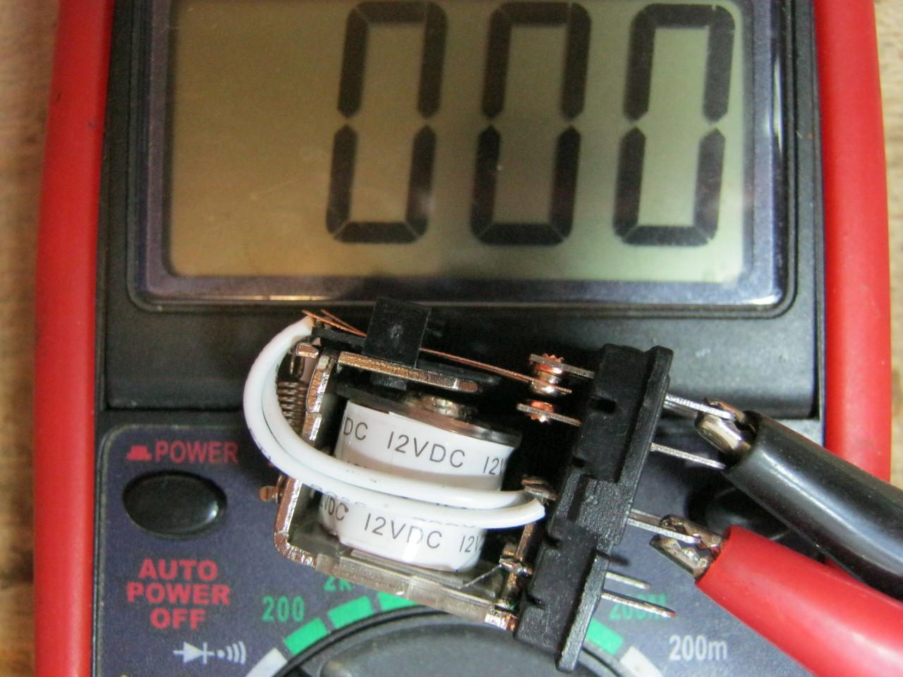 электромагнитное реле проверка