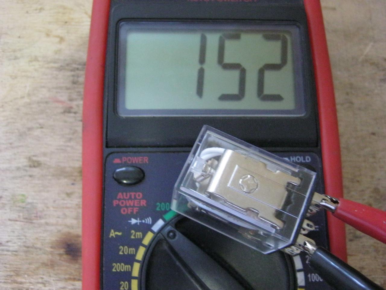 электромагнитное реле проверка катушки