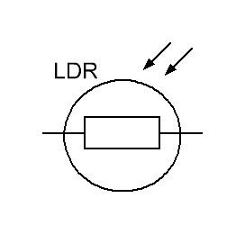 обозначение фоторезистора на схеме
