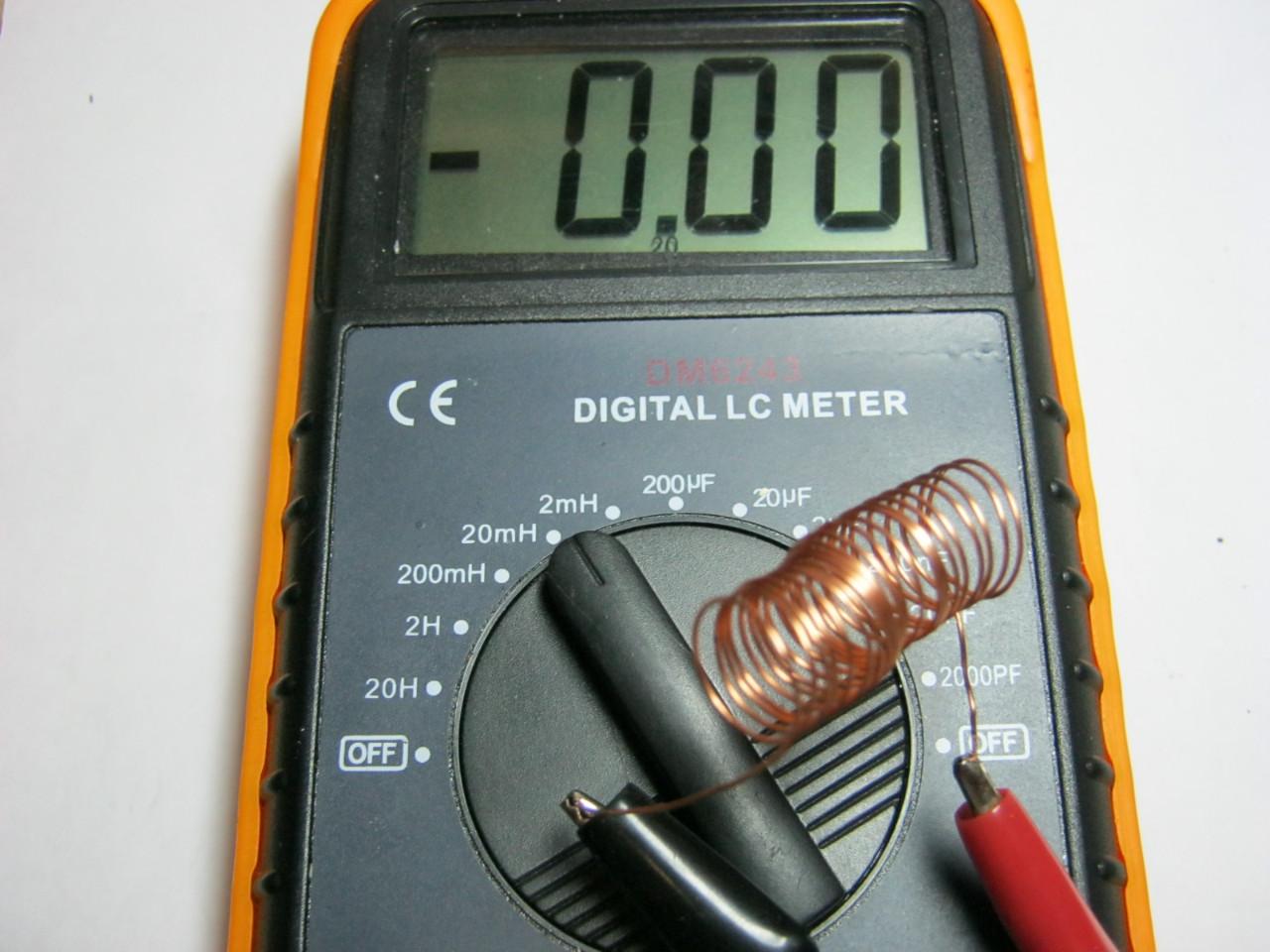 LC-метр и катушка индуктивности