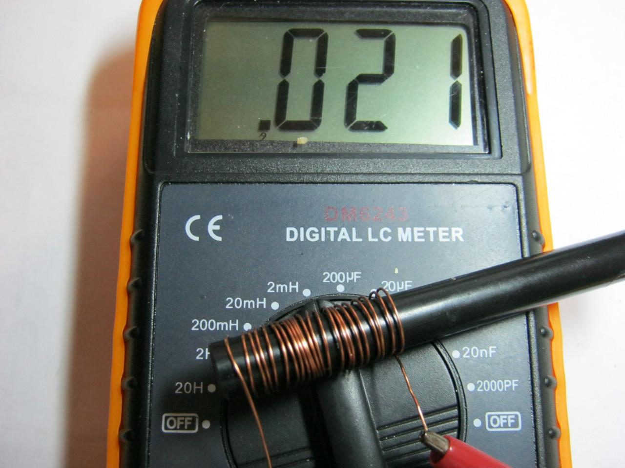катушка индуктивности измеряем индуктивность