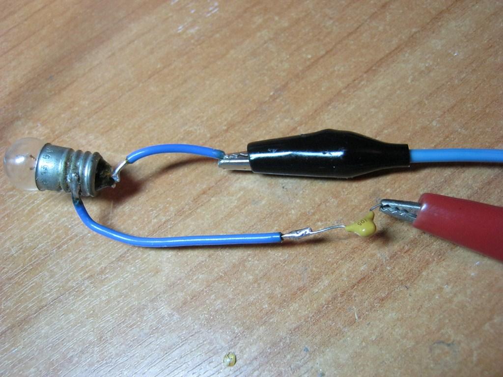 конденсатор в цепи постоянного тока