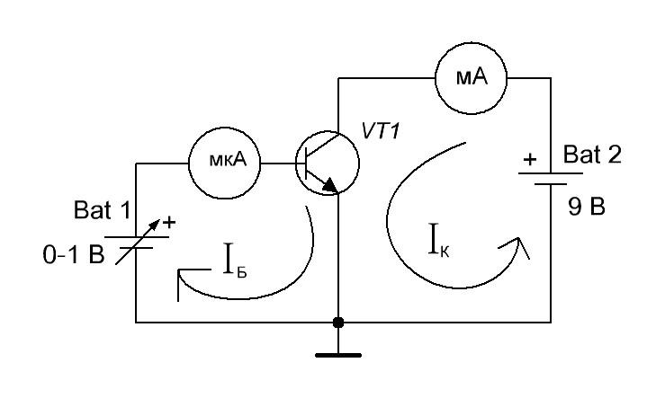 Коэффициент бета транзистора