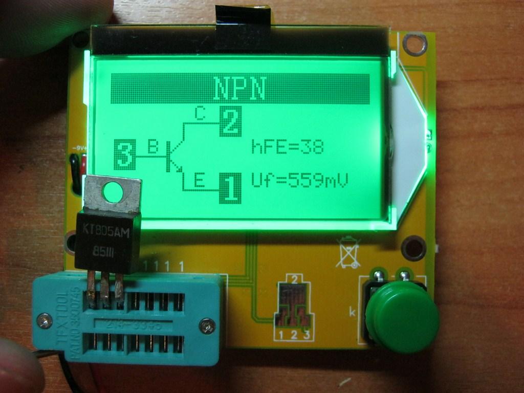 Как определить выводы неизвестного биполярного транзистора