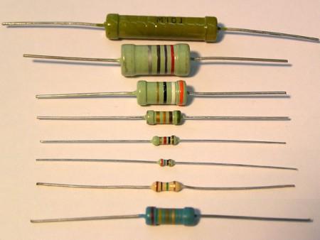 резисторы с выводами