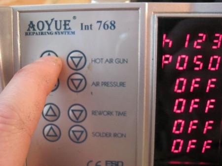 Паяльная станция AOYUE INT 768